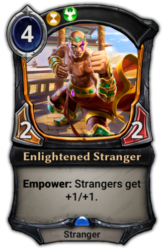 Enlightened Stranger card