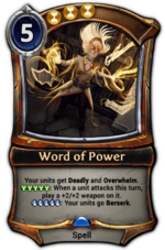 Word of Power
