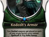 Kodosh's Armor