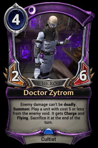 Doctor Zytrom card