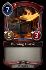 Burning Glaive