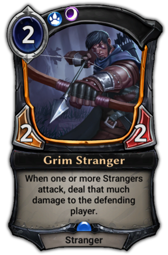 Grim Stranger card