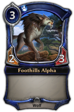 Foothills Alpha