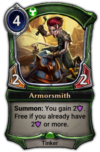 Armorsmith card