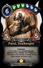Parul, Sealkeeper