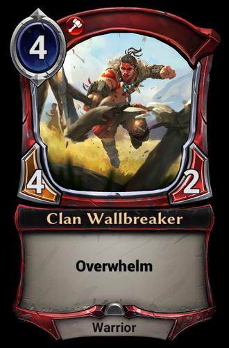 Clan Wallbreaker card