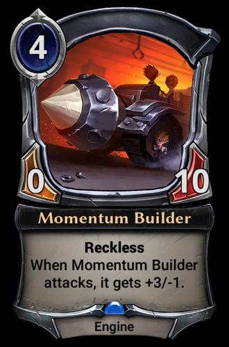 Momentum Builder card