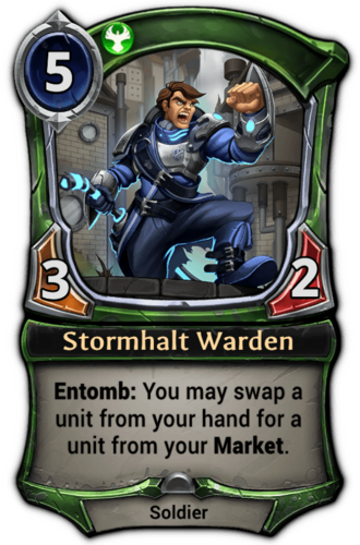 Stormhalt Warden card