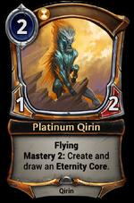 Platinum Qirin