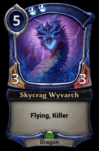 Skycrag Wyvarch card