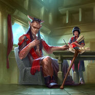 Full Art - Merizo, Gladiator Hero