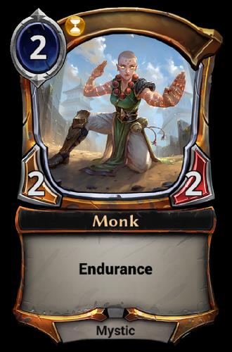 Monk card