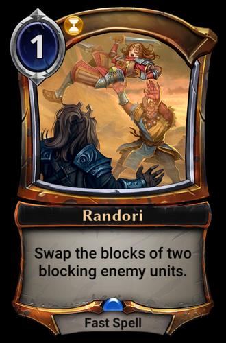 Randori card