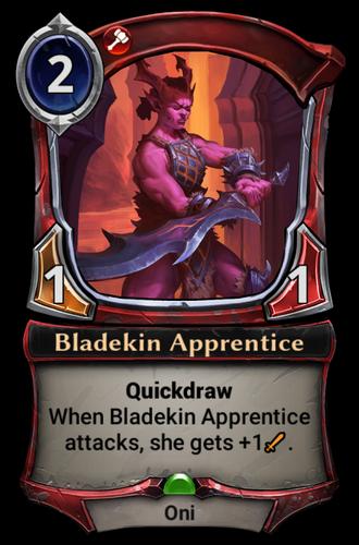 Bladekin Apprentice card