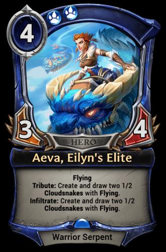 Aeva, Eilyn's Elite card