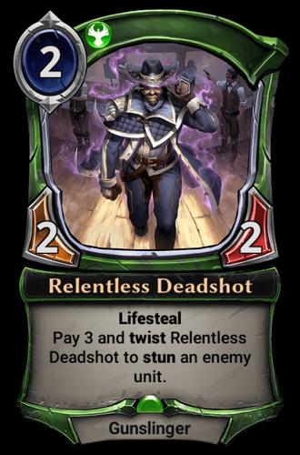 Relentless Deadshot card