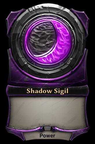 Shadow Sigil card