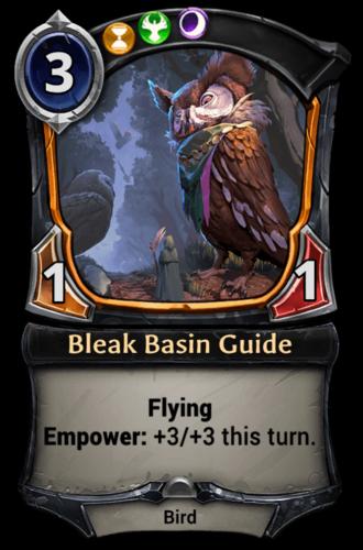 Bleak Basin Guide card
