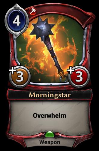 Morningstar card