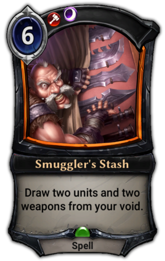 Smuggler's Stash card