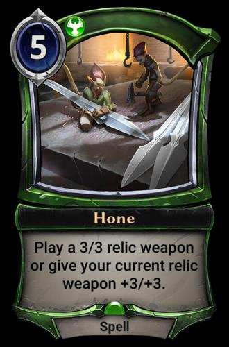 Hone card
