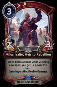 Milos Izalio, Heir to Rebellion.png