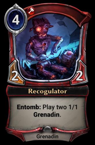 Recogulator card