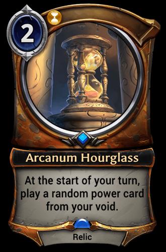 Arcanum Hourglass card