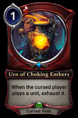 Urn of Choking Embers card