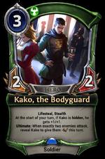 Kako, the Bodyguard