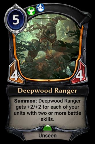 Deepwood Ranger card