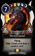 Nictotraxian