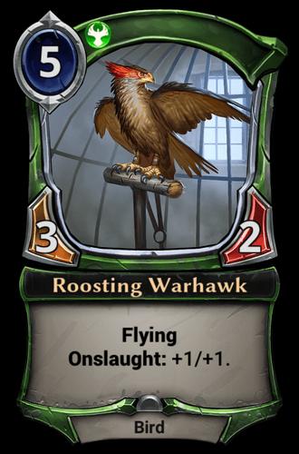 Roosting Warhawk card