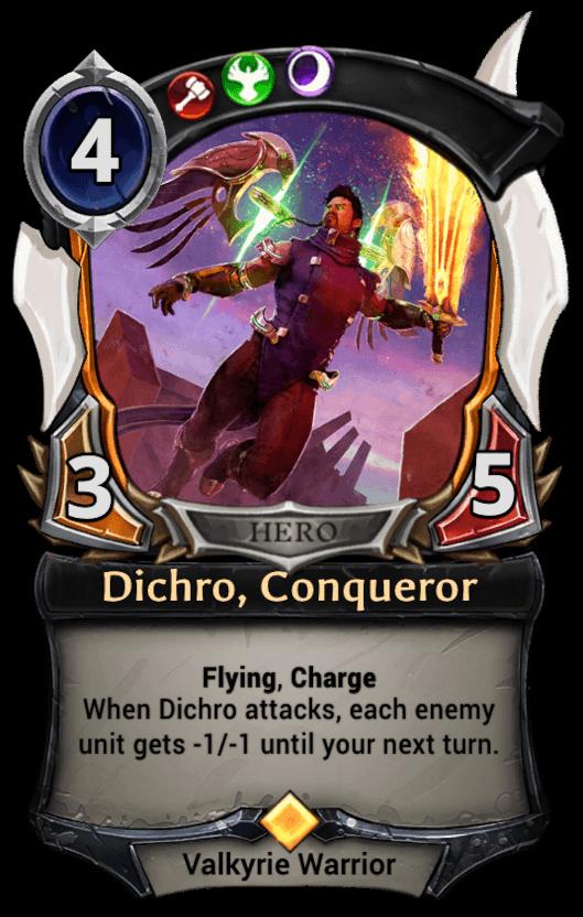 Dichro, Conqueror card