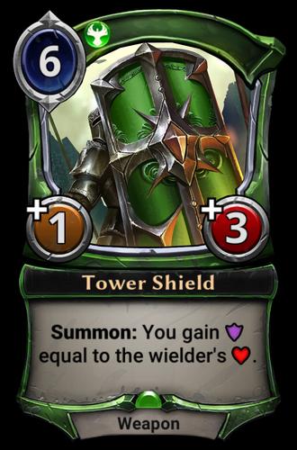 Tower Shield card