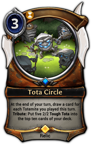 Tota Circle card