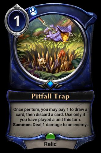 Pitfall Trap card