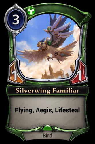 Silverwing Familiar card