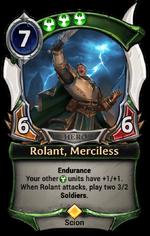 Rolant, Merciless