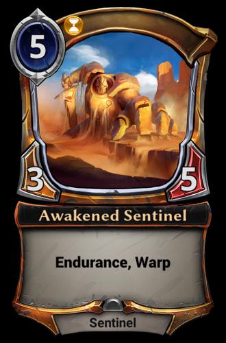 Awakened Sentinel card