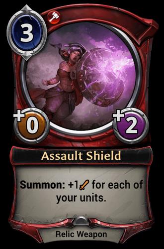 Assault Shield card