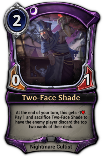 Two-Face Shade card