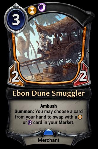 Ebon Dune Smuggler card