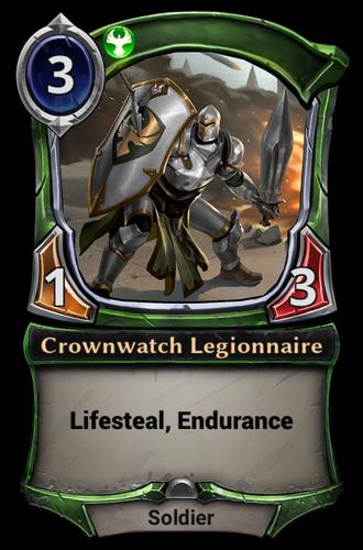 Crownwatch Legionnaire card