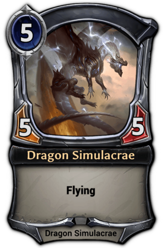 Dragon Simulacrae card