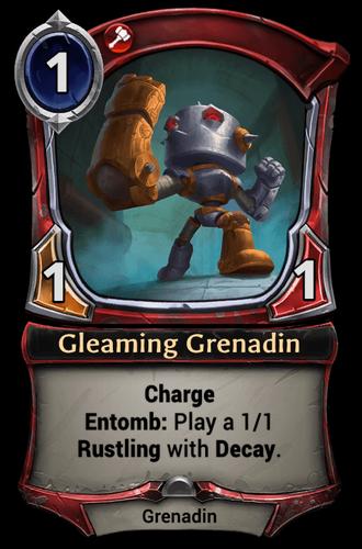 Gleaming Grenadin card