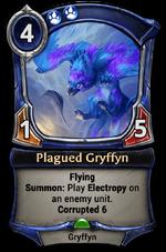 Plagued Gryffyn