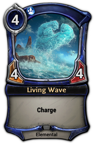 Living Wave card