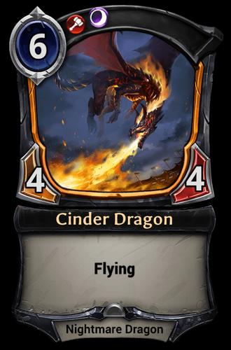 Cinder Dragon card