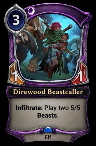 Direwood Beastcaller card